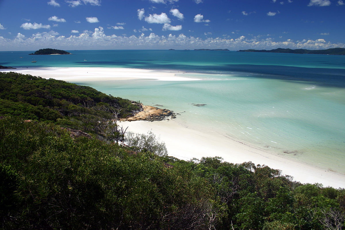 You can reach the Whitsundays on a cruise from Sydney ... photo by CC user Damien Dempsey on Flickr