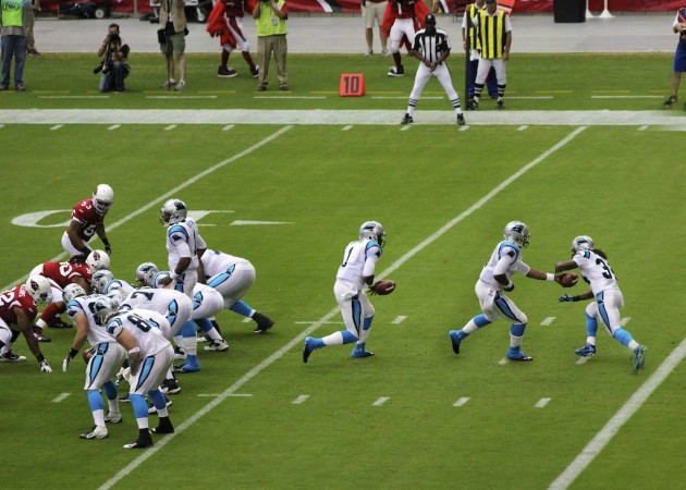 Cam_Newton's_first_NFL_play