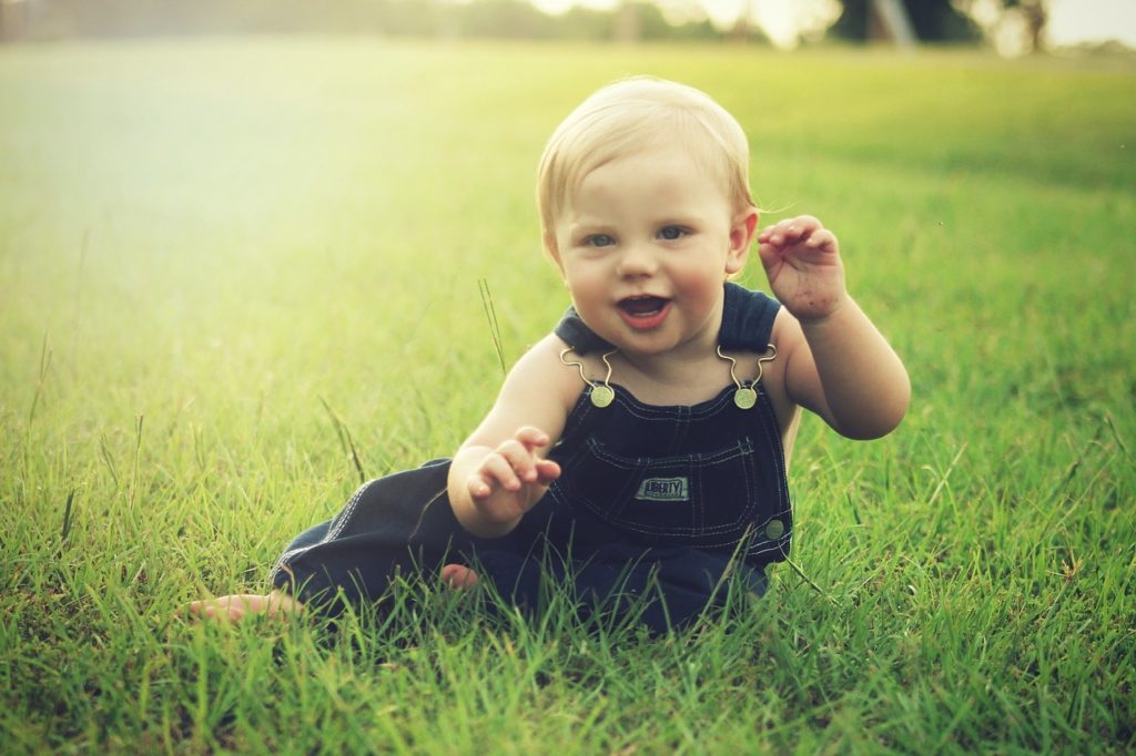 An active child is a happy child