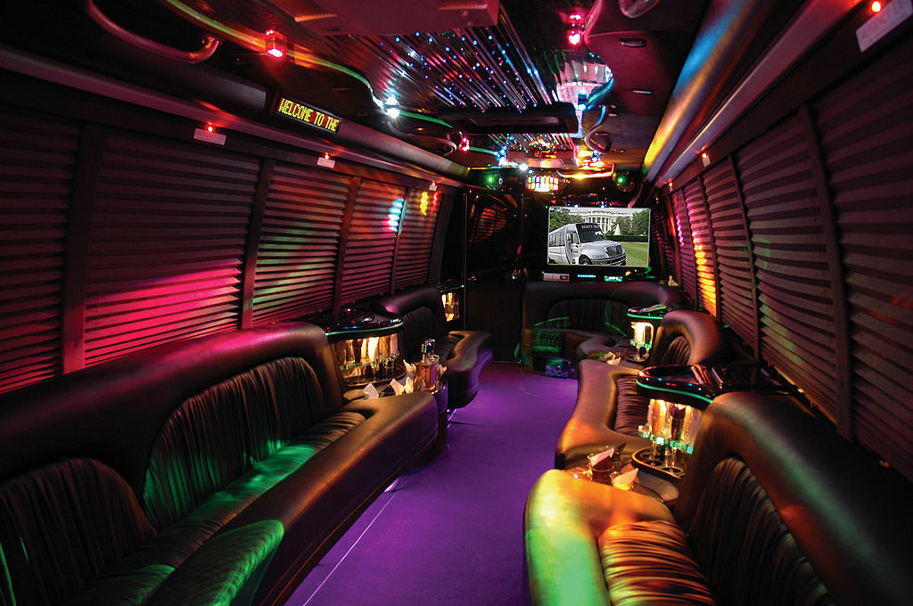This party bus is one of the Coolest Rides You Should Have Gotten for Your Prom Night